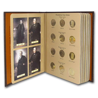Presidential Dollars 2007-2016, Dansco Two-Album Set
