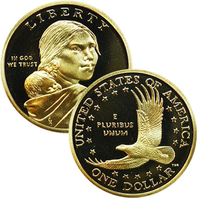 2000-2019 Sacagawea Dollars, PROOF