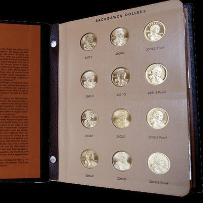 Sacagawea Dollars 2000-To Date , Dansco Album Set