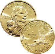 2000-2019 Sacagawea Dollars, Uncirculated