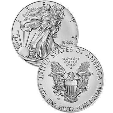 Uncirculated Silver Eagle Dollars