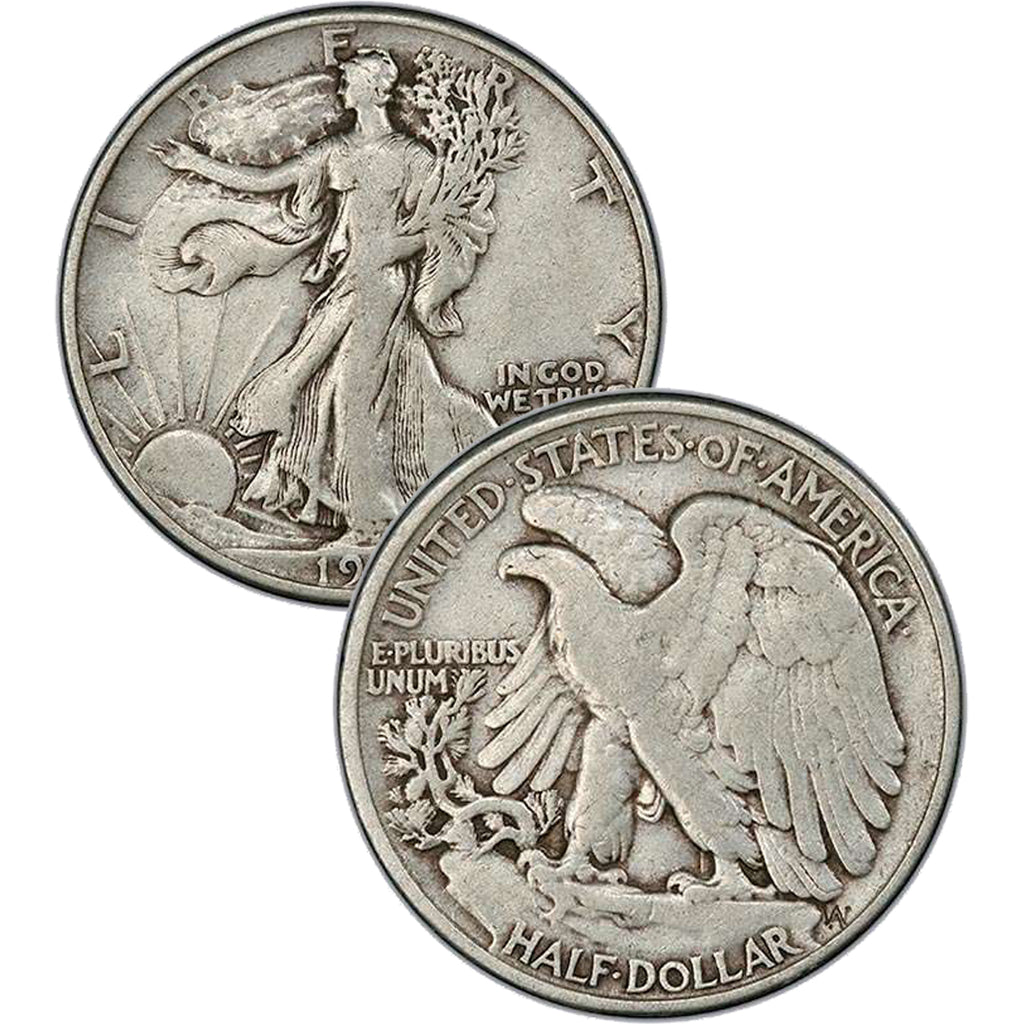 1945-S Walking Liberty Half Dollar