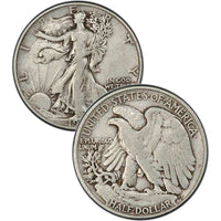 1938 Walking Liberty Half Dollar
