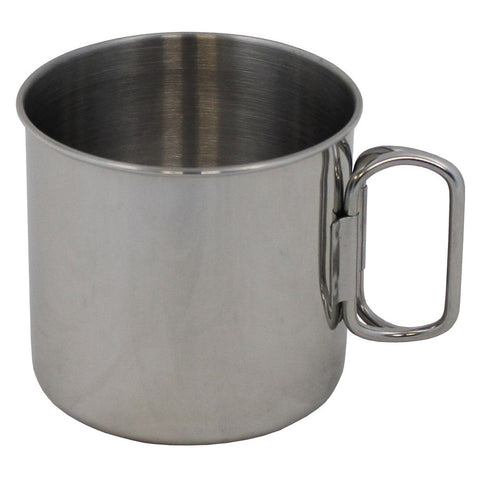 Fox Stainless Steel Cup folding handles
