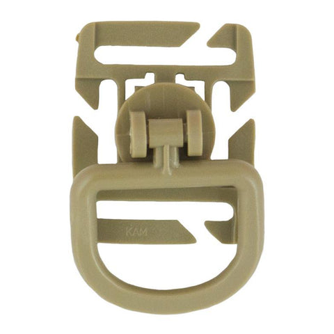 Tactical Rotating D Ribbon Ring Grip