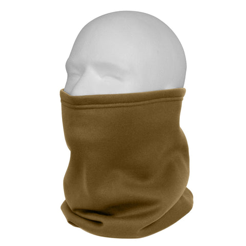 ROTHCO ECWCS Polyester Neck Gaiter Coyote Brown