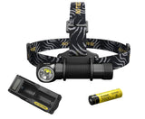 Nitecore HC33 with 1 x NL1835HP 1800 Lumens