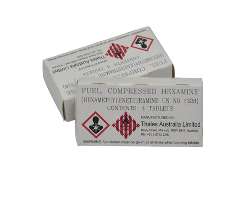 Australian Army Issue Hexamine Tablets