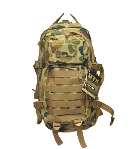 HUSS Auscam Hydration Assault Pack