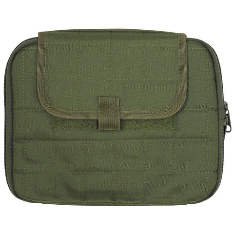 MFH Tablet-Case with MOLLE OD Green