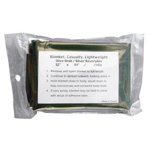 ROTHCO Military Emergency Casualty Survival Blanket