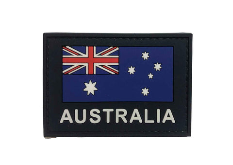 WEDGETAIL Australian Flag Patch PVC