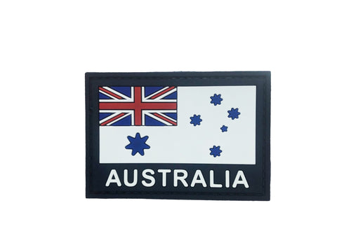 WEDGETAIL RAN White Ensign Patch PVC