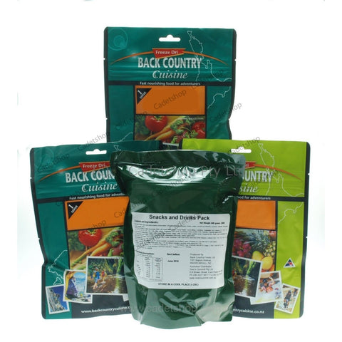 Back Country Ration Pack - Adventure