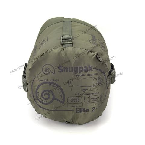 Snugpak Softie Elite 2 Sleeping Bag - LH Olive