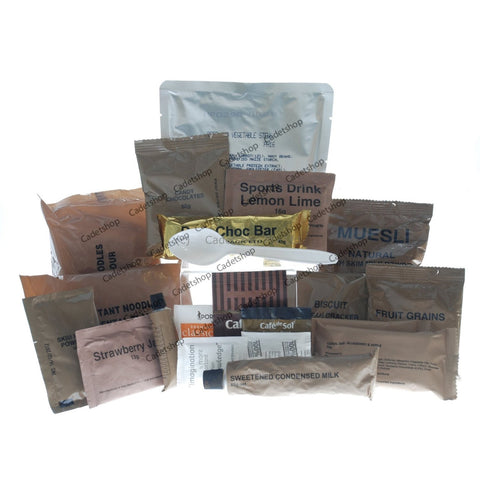 Hunger Buster 24hr Ration Pack Meal Ready to Eat Hunger Buster - Cadet