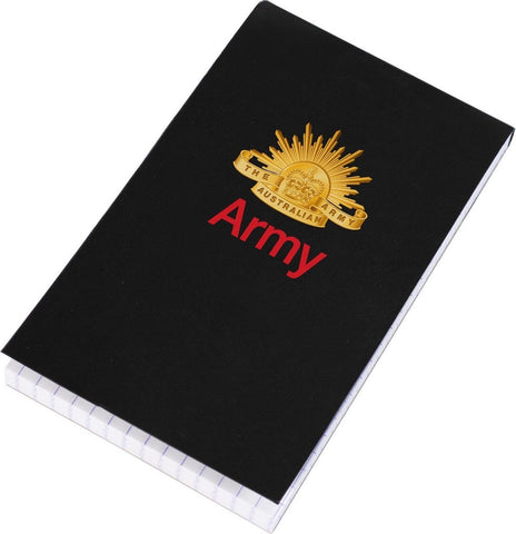 Notebook Australian Army Black