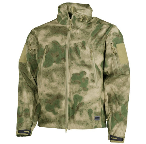 MFH Scorpion HDT Camouflage Soft Shell Jacket