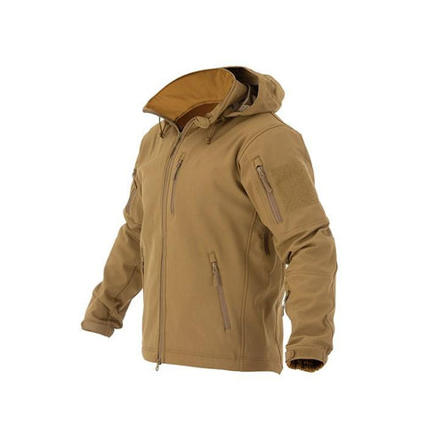 VALHALLA Soft Shell Jacket Coyote