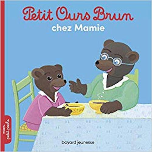 French flip-flap and Petit Ours Brun and Timoté books