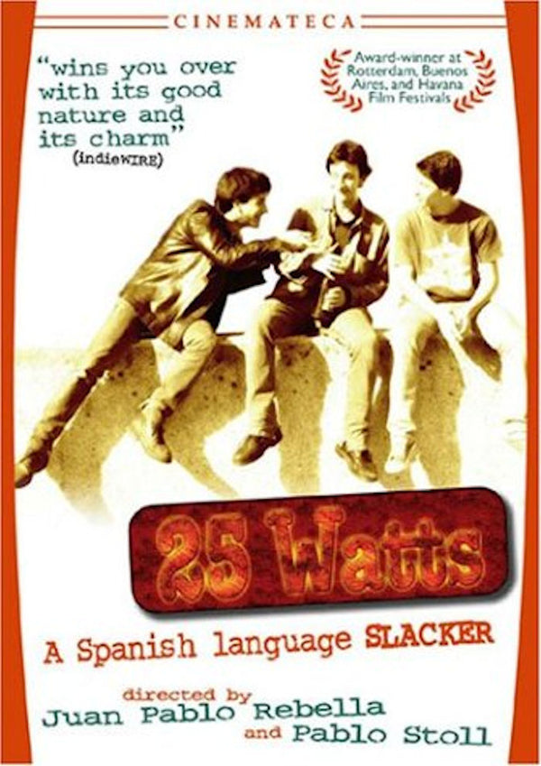 25 Watts DVD - 24 hours in the life of three street youths in Montevideo. 2001 film directed by Juan Pablo Rebella and Pablo Stoll