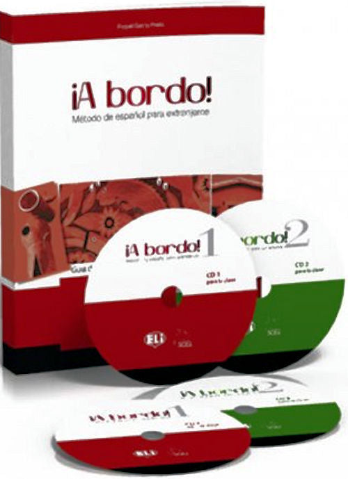 A Bordo Guí­a didáctica = teacher's guide for A Bordo 1 & 2 with exams, teaching objectives, extension activities, answer keys, transcriptions and extra exercises.