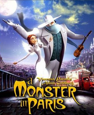A Monster in Paris - Un Monstre à Paris DVD