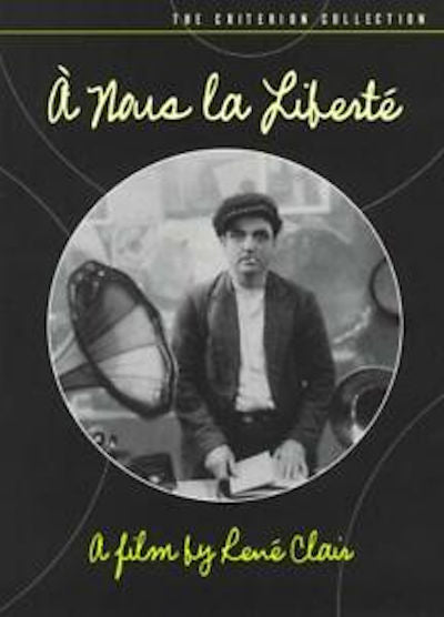 A nous la Liberté DVD - 1931 French Film directed by René Clair. Two convicts plot to break out of prison in this delightful music comedy.