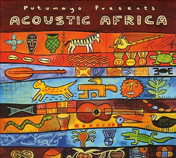 Acoustic Africa CD - A captivating collection featuring many of Africa's best singer-songwriters performing beautiful songs with an acoustic flavor.  by Putumayo