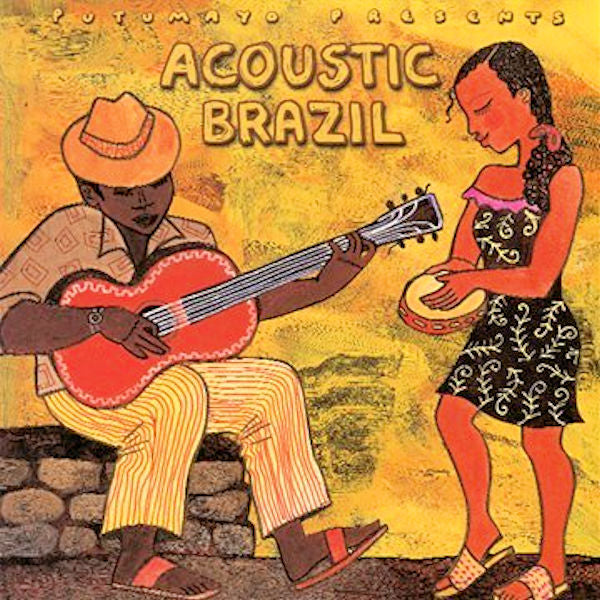 Acoustic Brazil CD - The gentle rhythms of samba, bossa nova and more by legendary artists and fresh new voices.