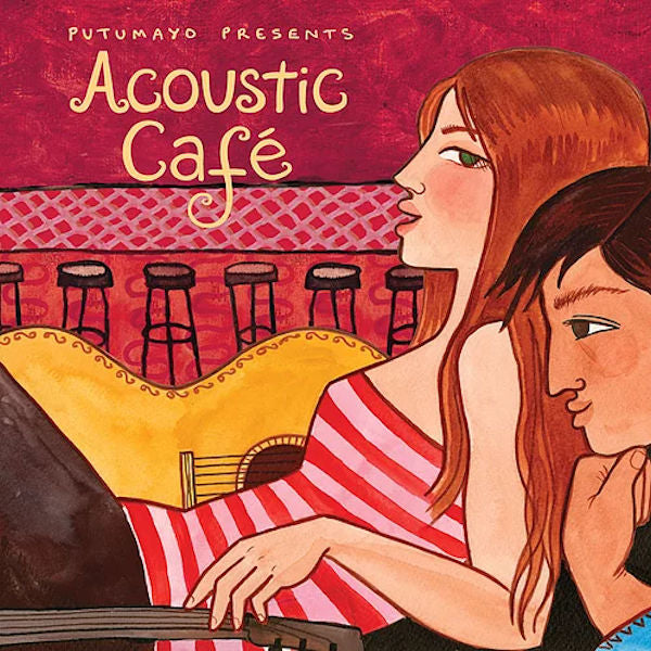 Acoustic Cafe CD - A captivating collection of singer-songwriters from the USA, Canada, South Africa and Australia.