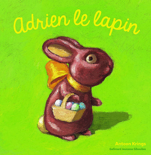 Adrien le Lapin by Antoon Krings. Ages 8 - 12. Delightful story about a rabbit for young children who can read more than a sentence per page in French.