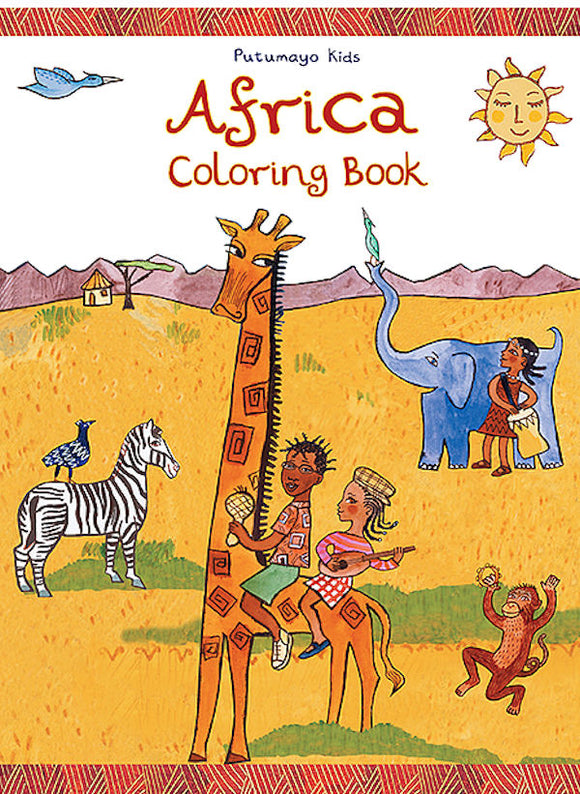Africa Coloring Book