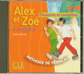Alex et Zoé 2 audio CD
