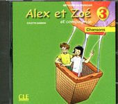 Alex et Zoé 3 CD Audio