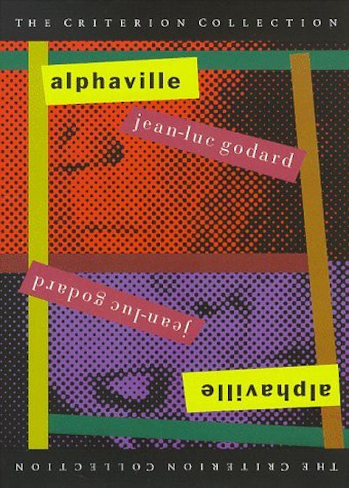 Alphaville DVD - 1965 French film directed by Jean-Luc Godard. Lemmy Caution, an American private-eye, arrives in Alphaville