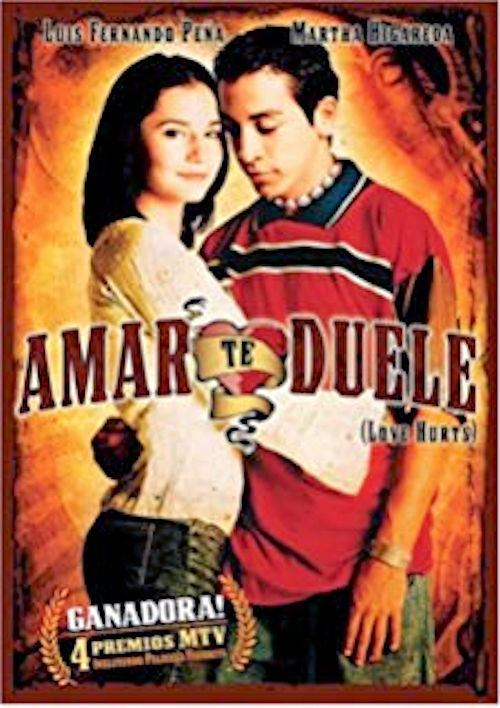Amar te Duele (Love Hurts) - 2002 Mexican film directed by Fernando Sariñana. Renata is a young high-class girl and Ulises is a poor guy.