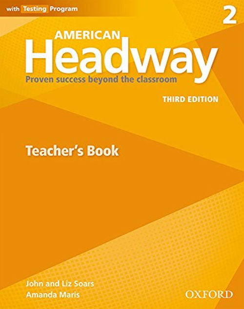 American Headway Third Edition Level 2 Teacher's Resource Book with Testing Program - This valuable resource includes a selection of reproducible activities