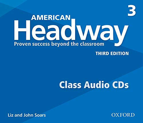 American Headway Level 3 Class CDs - The set of 3 Student audio CDs feature all of the listening activities in the student book.