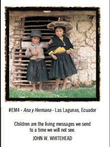 Ana y Hermana Greeting Card