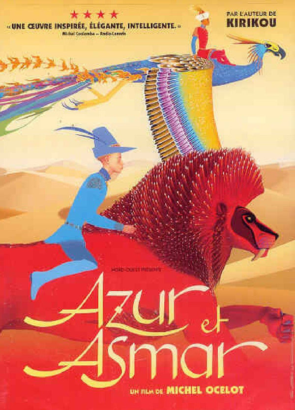 7th Grade Viewing - Azur et Asmar DVD