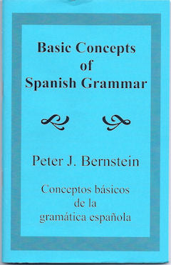 Basic Concepts of Spanish Grammar
