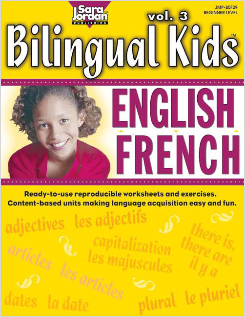 Bilingual Kids Resource Book - English-French volume 3