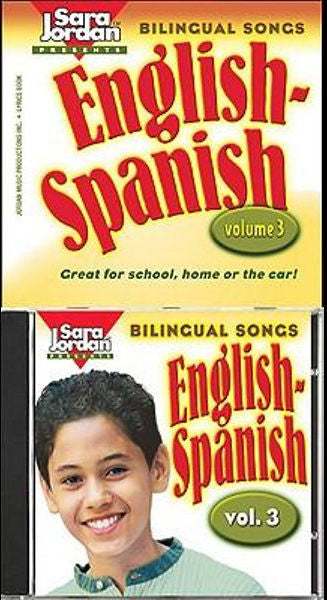 Bilingual Songs English - Spanish CD - volume 3