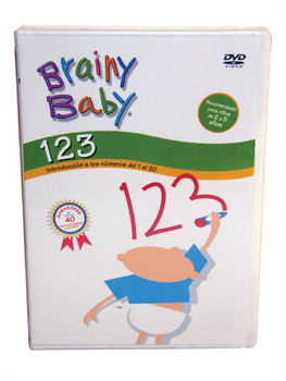 Brainy Baby Spanish 123 dvd