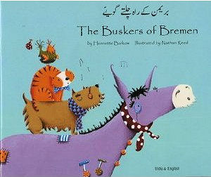 The Buskers of Bremen - Bilingual Urdu Edition