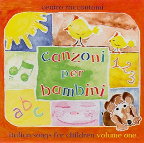 Canzoni Per Bambini Volume I is a collection of original children's songs written by Dr. Katia Moltisanti Tennyson and John Gentry Tennyson