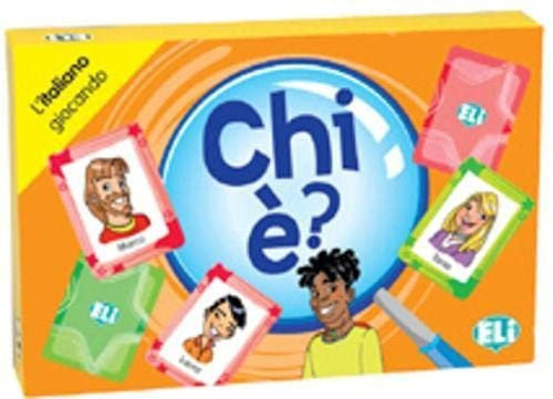 Chi è ? An Italian card game for 1st and 2nd year students to learn and review vocabulary and structures relating to physical descriptions.