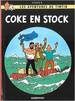 Tintin Coke en Stock - Tintin The Red Sea Sharks - Tintin volume # 19