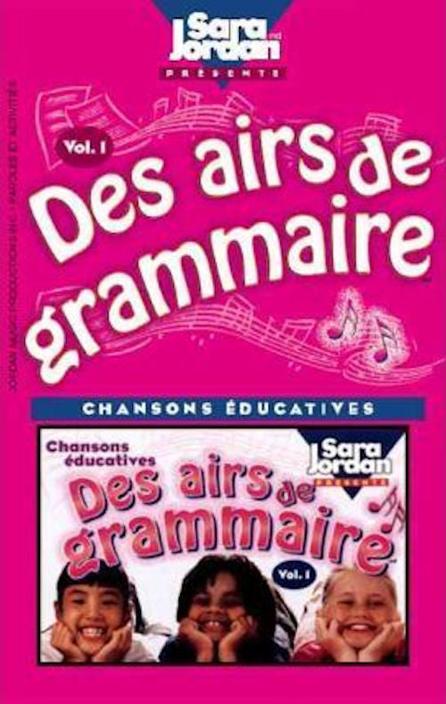 Des Aires de Grammaire CD and Booklet